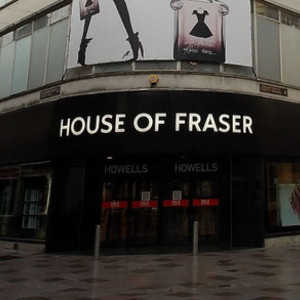House of Fraser stopping online orders amid business debt collection rows